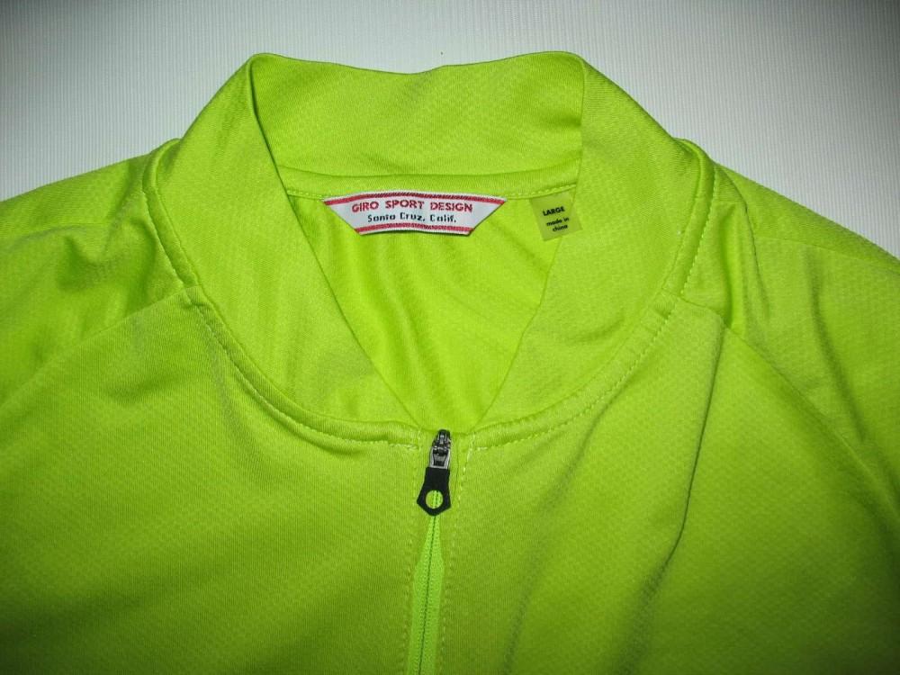 Веломайка GIRO ride LT ss jersey (размер L) - 7