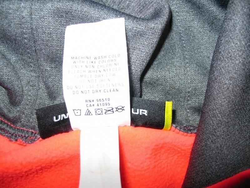 Кофта UNDER ARMOUR Fleece Big Logo Pullover Hoody kids/lady  (размер YL/взрослый XS) - 6