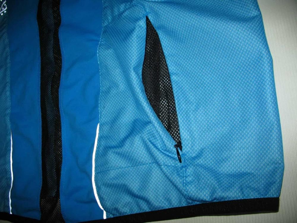 Вело/бег куртка GORE gtx windstopper ultralight blue jacket (размер XXL) - 4