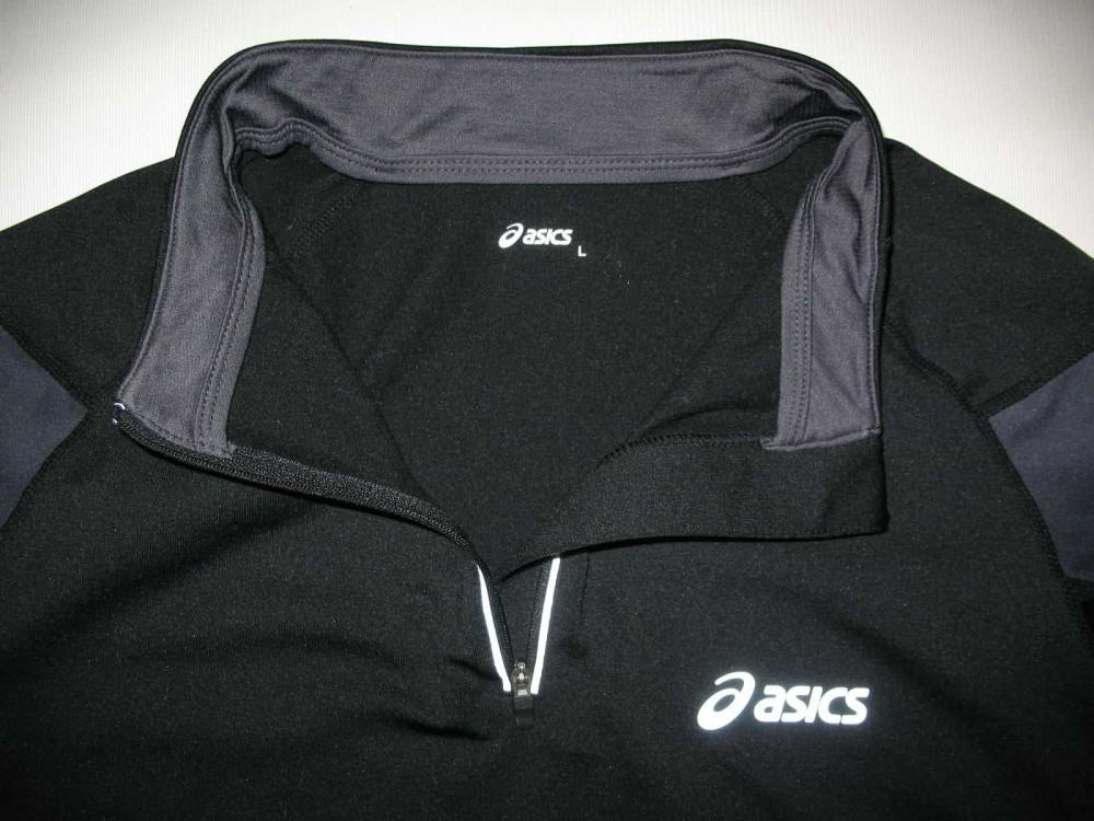 Кофта ASICS run fleece 1/2 zip jersey (размер L) - 3