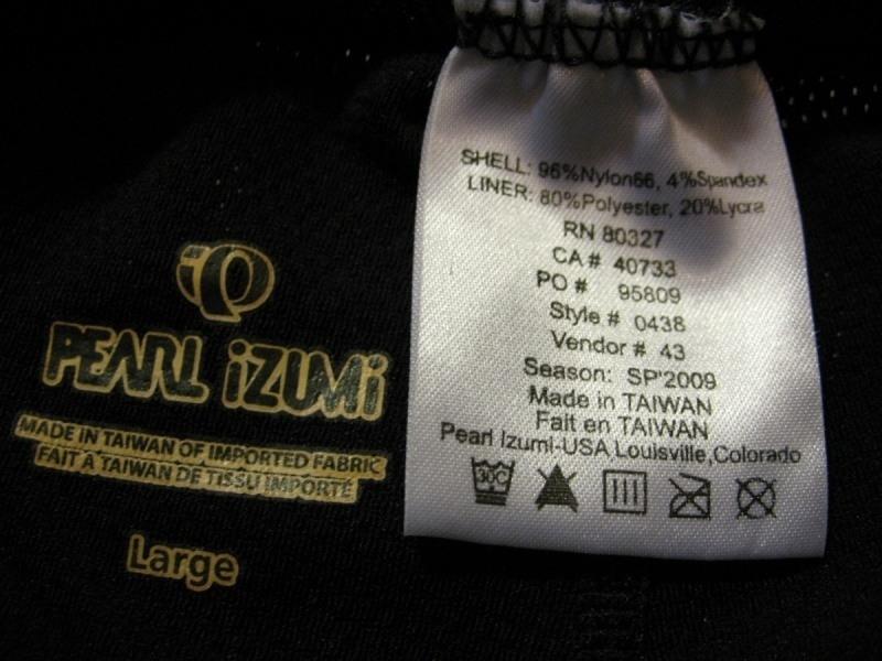 Шорты PEARL IZUMI lady (размер LM) - 3