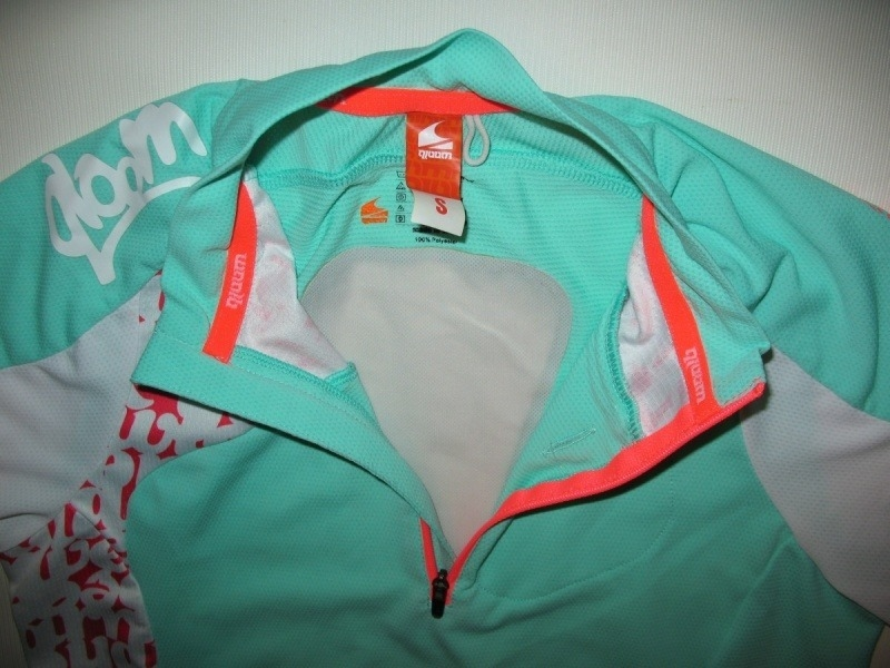 Футболка QLOOM bike jersey 3 lady (размер S) - 3
