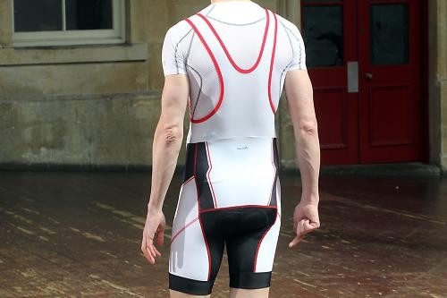 Велокомплект BTWIN 700 jersey+bib shorts (размер M) - 5