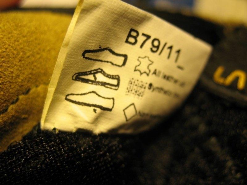 Скальные туфли LA SPORTIVA katana lace  (размер EU39;USm6, 5;USw7, 5(на стопу 250 мм)) - 12