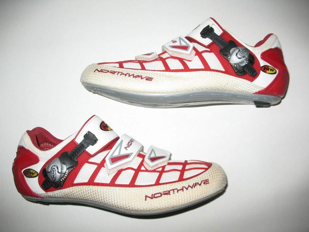 Велотуфли NORTHWAVE revenge road shoes (размер EU41(на стопу до 260 mm)) - 2