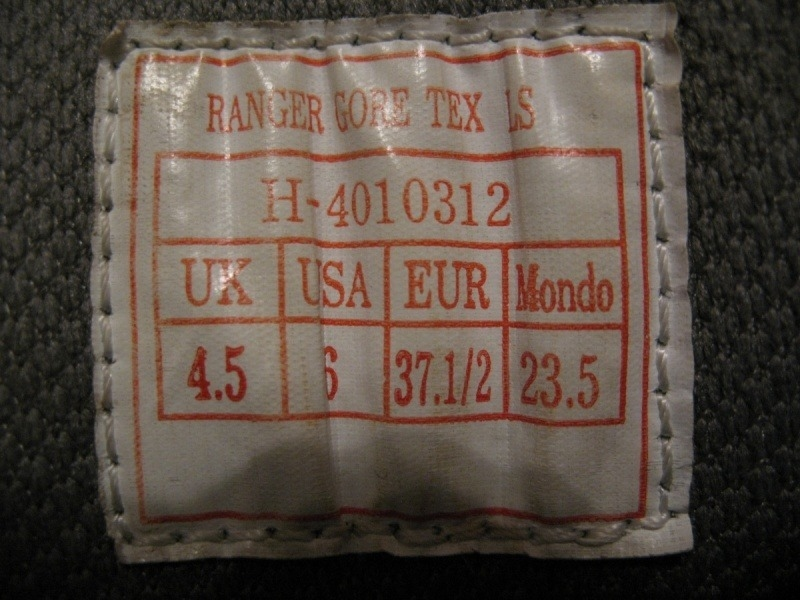 Ботинки RAICHLE/MAMMUT Ranger GTX  lady  (размер US 6/UK4, 5/EU37, 5(235mm)) - 11