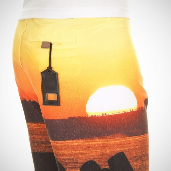 Шорты SANTA CRUZ Lighthouse Sunset Boardshort (размер 36/XL) - 4