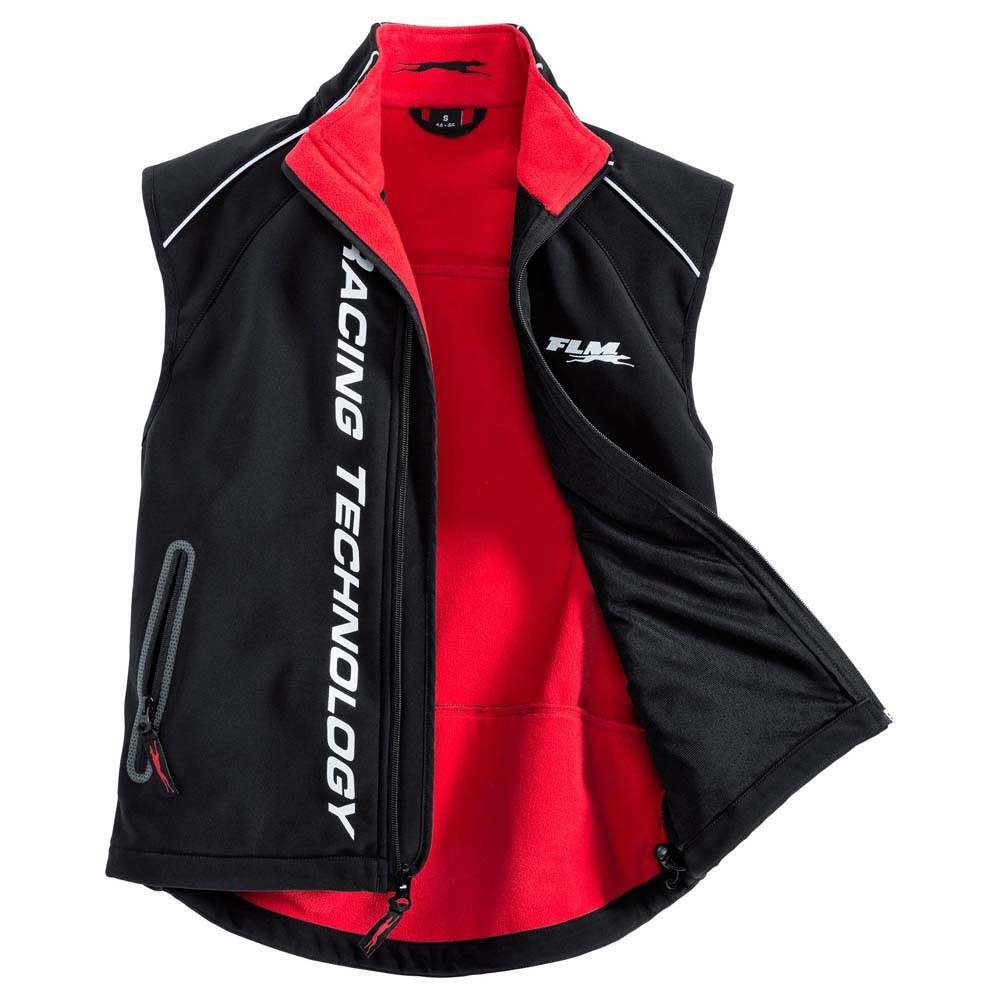 Жилет FLM sports softshell 1.0 vest (размер S) - 2