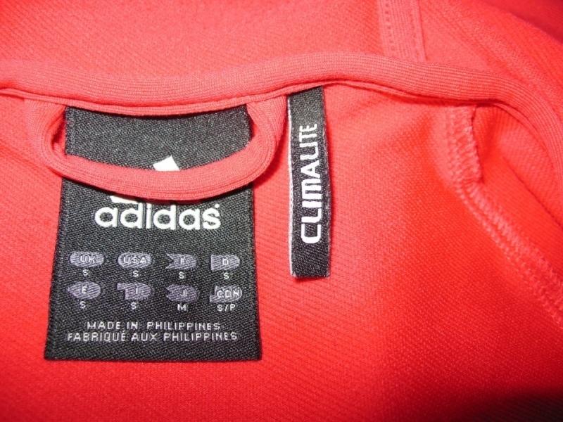 Кофта ADIDAS core performance climalite full zip hoodie  (размер S/M) - 6
