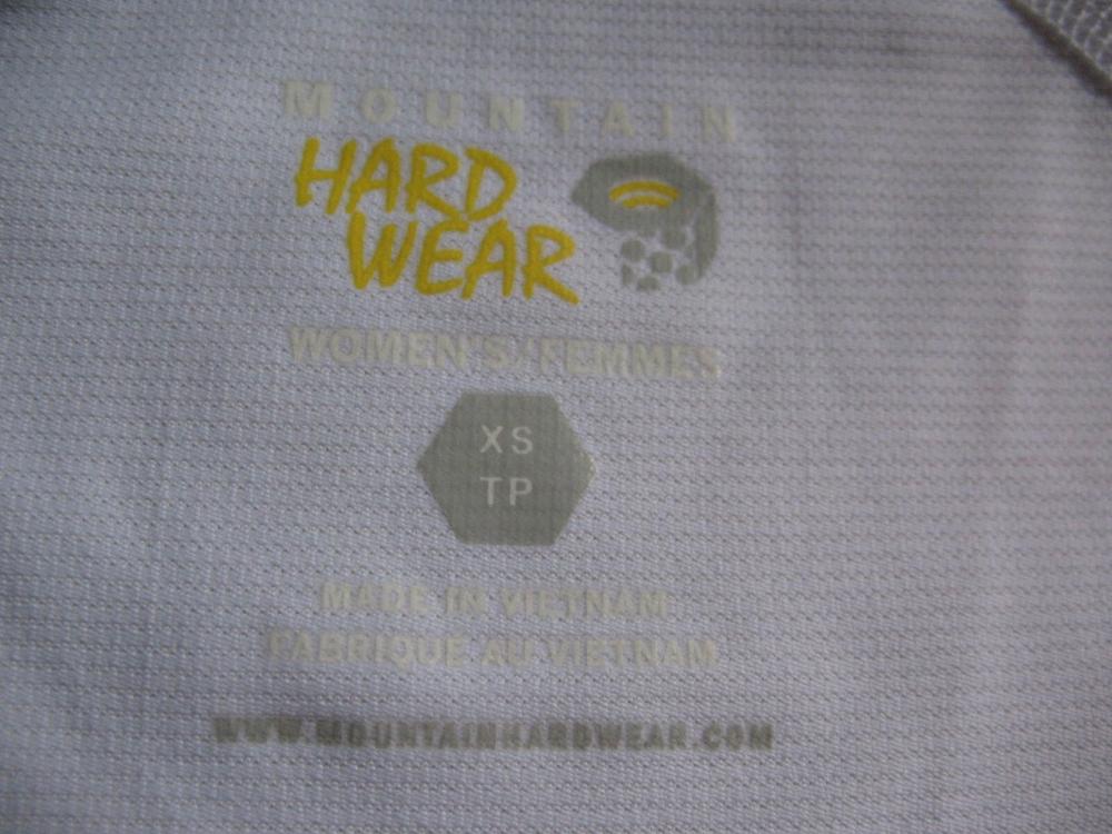 Футболка MOUNTAIN HARDWEAR Sleeveless Shirt lady (размер XS/S) - 2