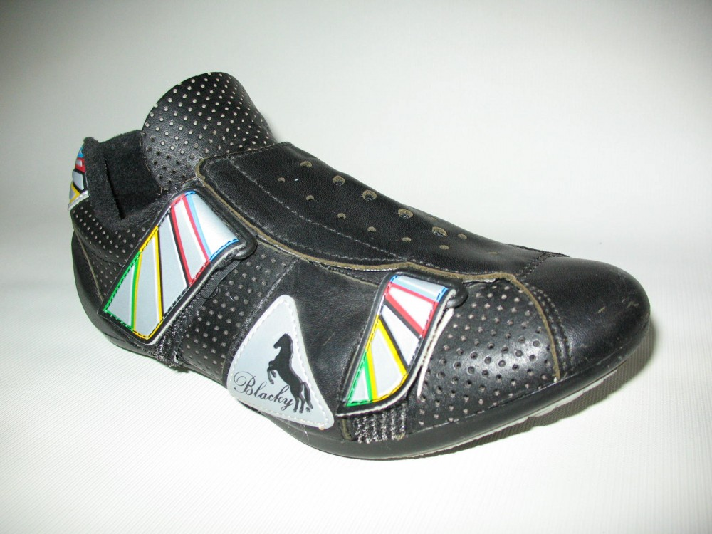 Велотуфли BLACKY cycling road shoes (размер EU41(на стопу до 250 mm)) - 2