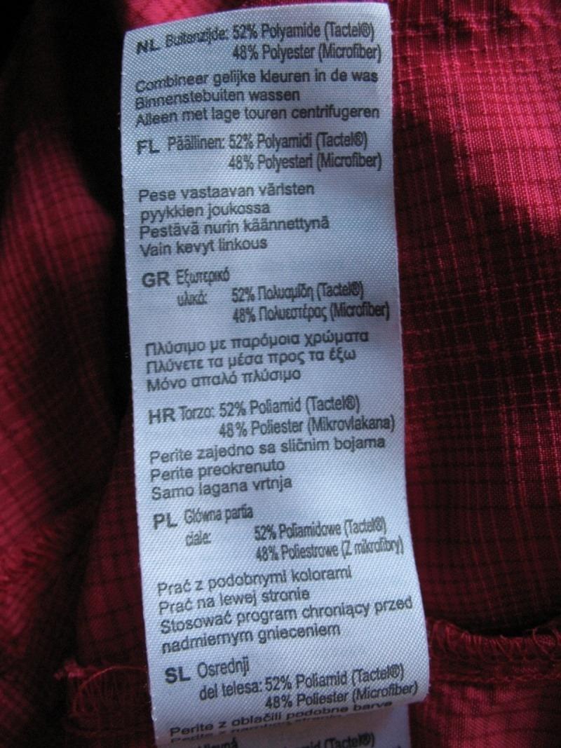 Рубашка MAMMUT Alessandria long shirt (размер M) - 8