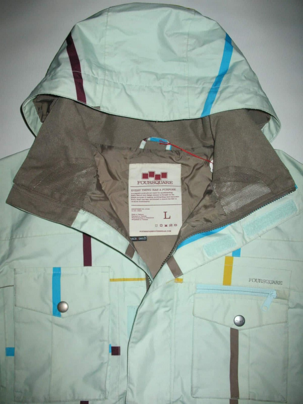 Куртка FOURSQUARE vise jacket (размер L) - 7