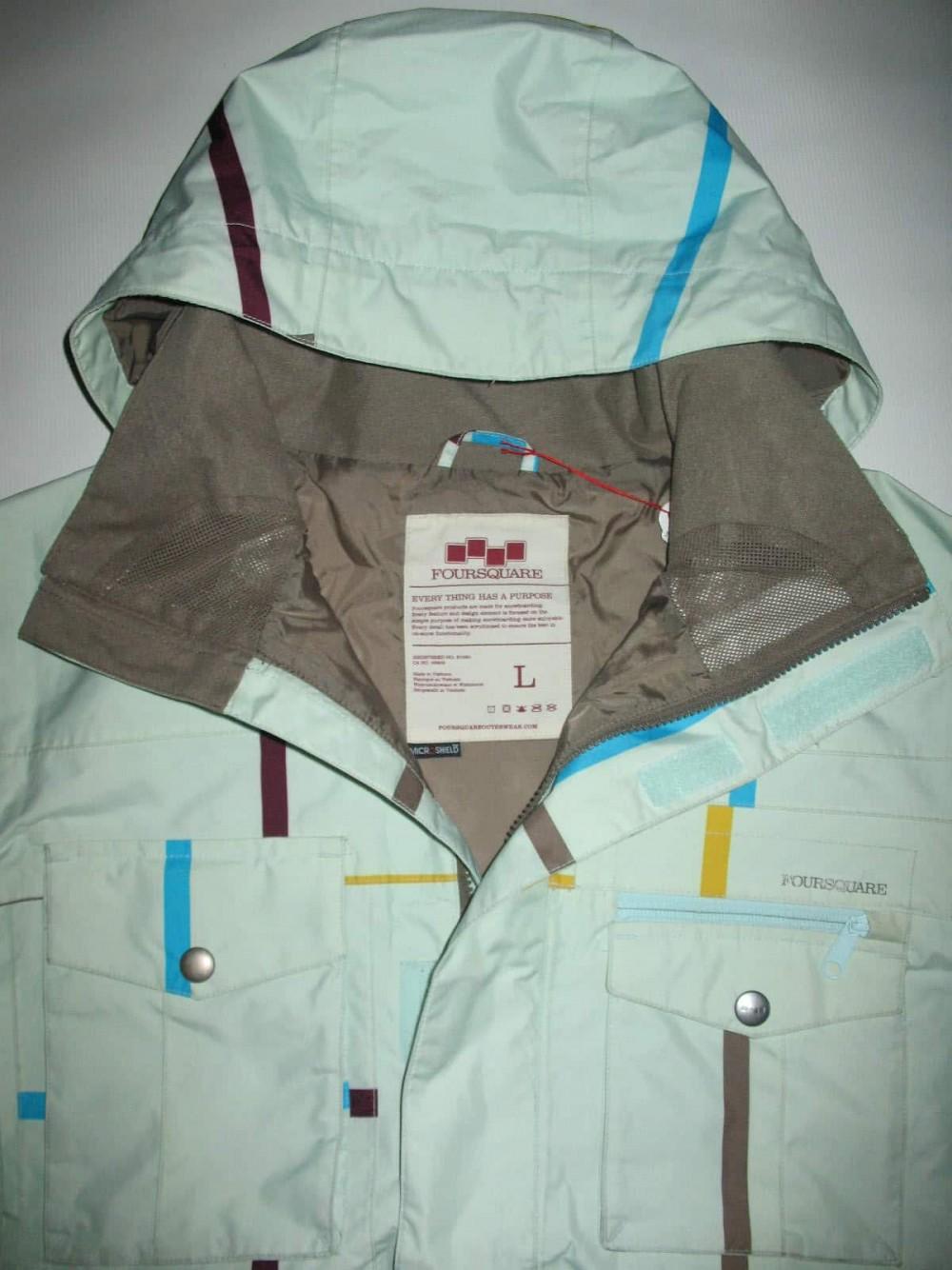 Куртка FOURSQUARE vise jacket (размер L) - 7