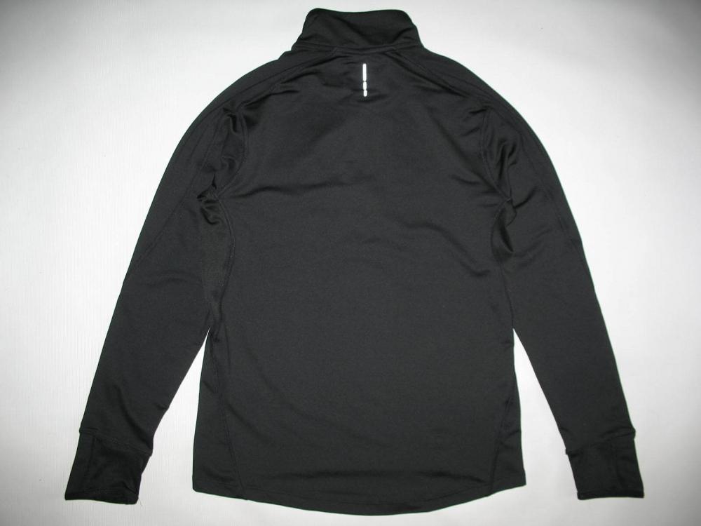 Толстовка SALOMON Trail Runner Warm LS Zip jersey (размер M) - 1
