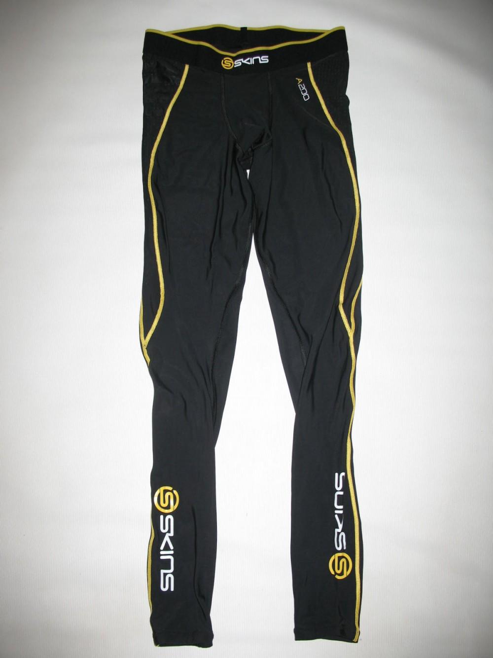 Футболка+брюки SKINS A200  short sleeves jersey+ long tights (размер M) - 4