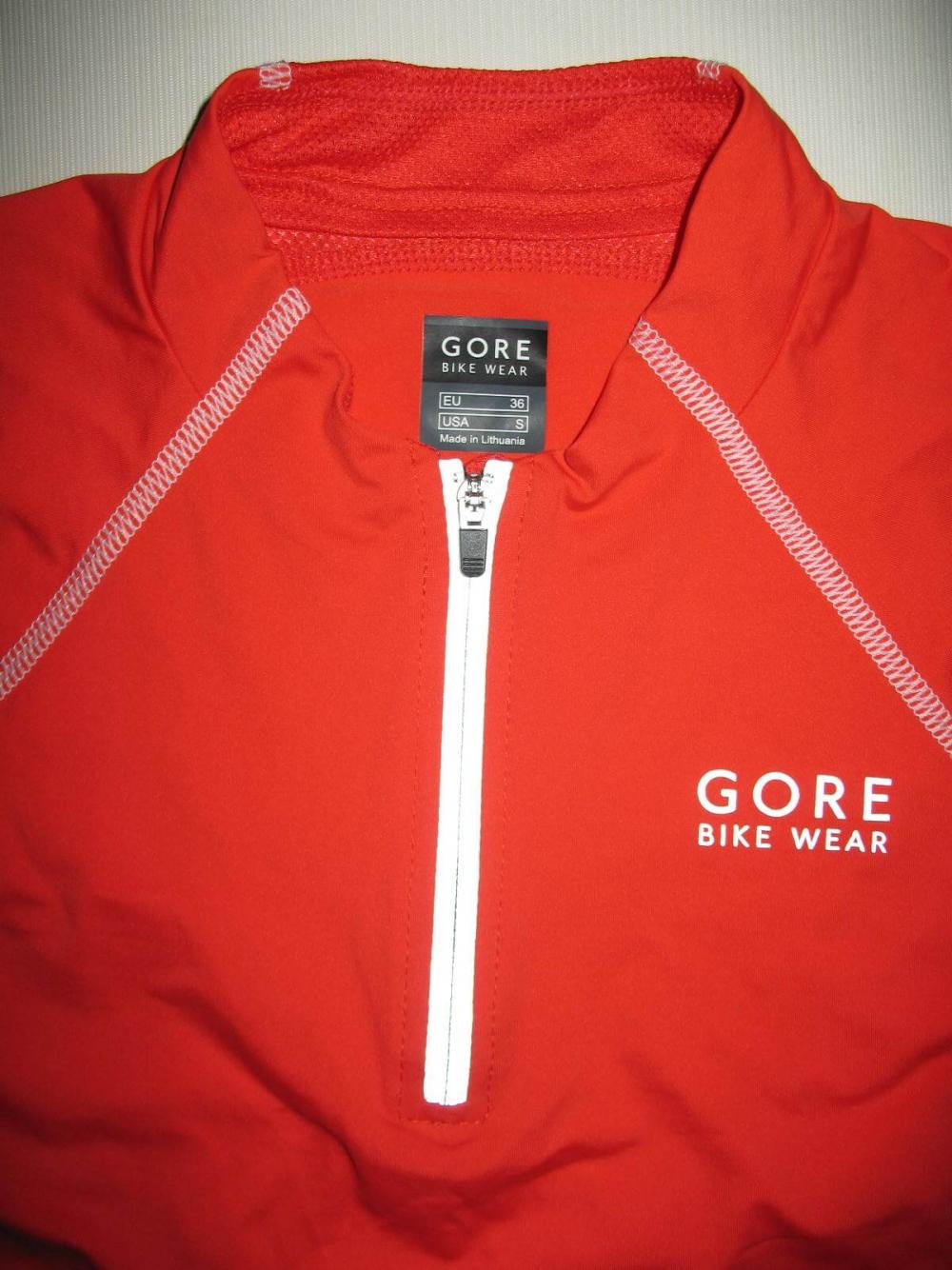 Веломайка GORE bike wear sleeveless jersey lady (размер 36/S) - 2