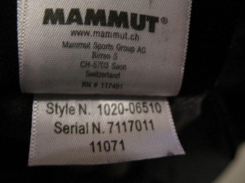 Штаны MAMMUT Dobson Pants (размер 50/L) - 15