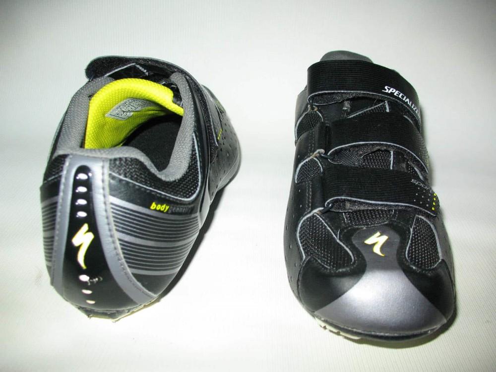 Велотуфли SPECIALIZED sport road black shoes (размер US11/UK10/EU44(на стопу до 283 mm)) - 5