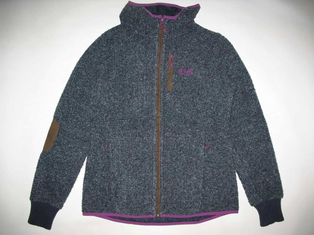 Кофта JACK WOLFSKIN milton fleece hoodie lady (размер 40-M/L) - 3