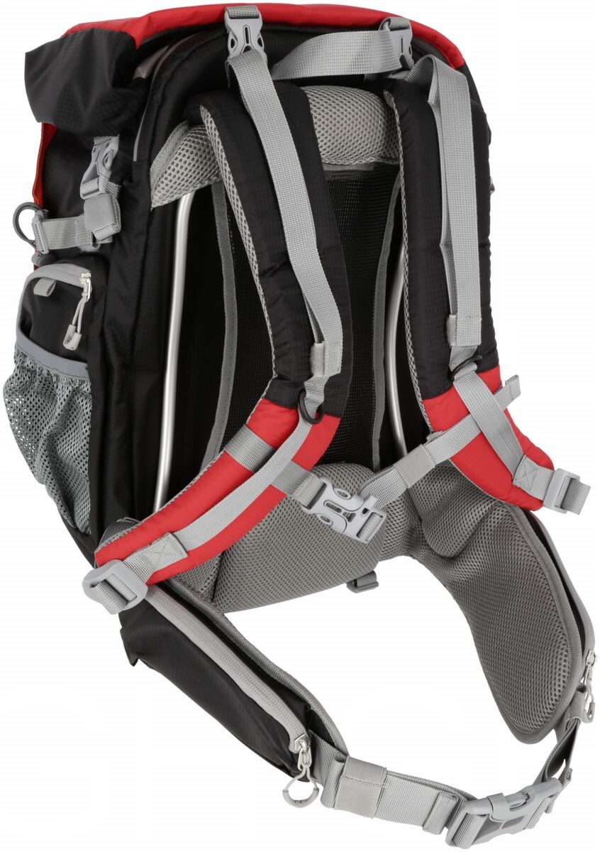 Рюкзак ROLLEI traveler canyon M red - 5