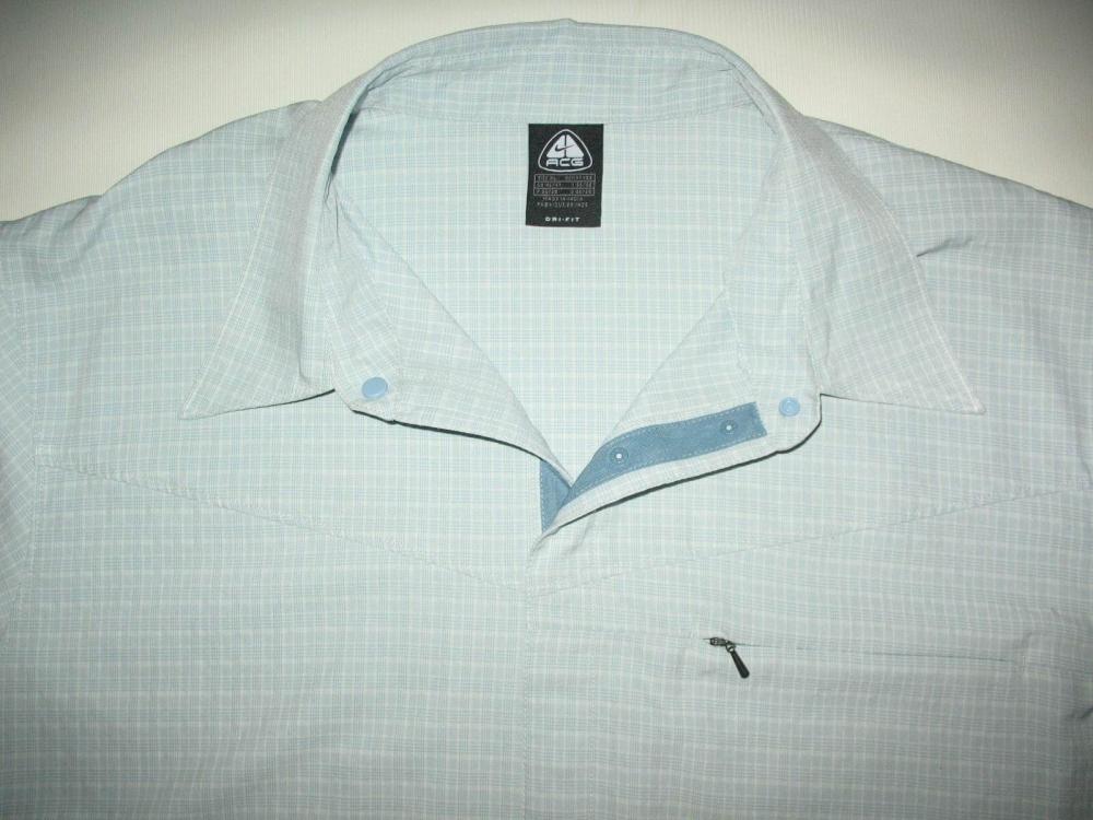 Рубашка NIKE acg dri fit shirt (размер XL/XXL) - 2