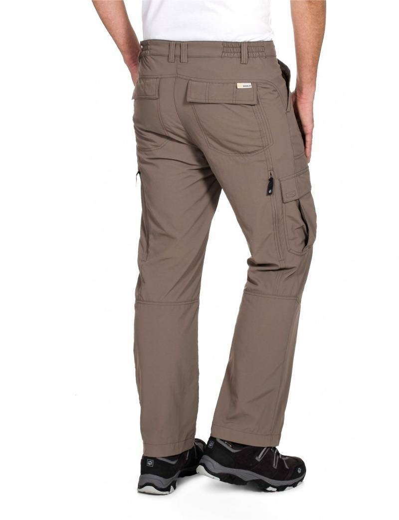 Штаны JACK WOLFSKIN Mosquito Safari Pants  (размер 34/50/L)) - 1