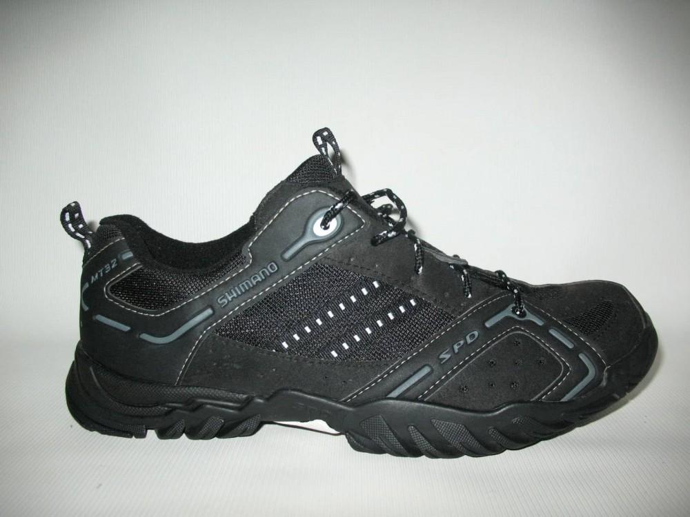 Велотуфли SHIMANO sh-mt32 mtb shoes (размер US10.5/EU45(на стопу до 285 mm)) - 1
