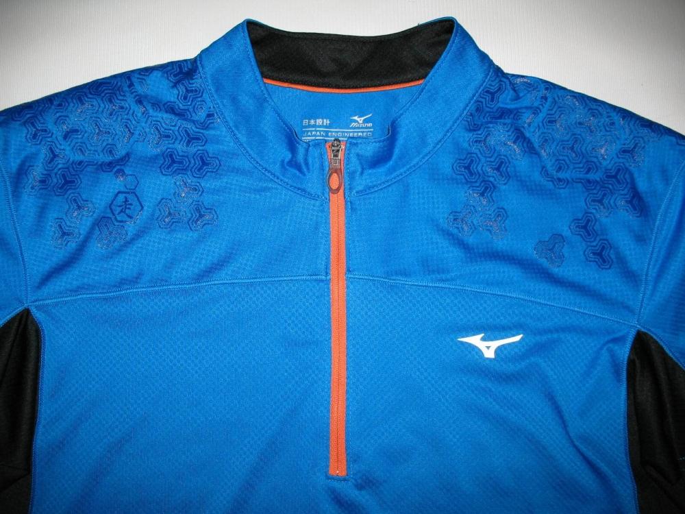 Футболка MIZUNO drylite hex tee jersey (размер M) - 5