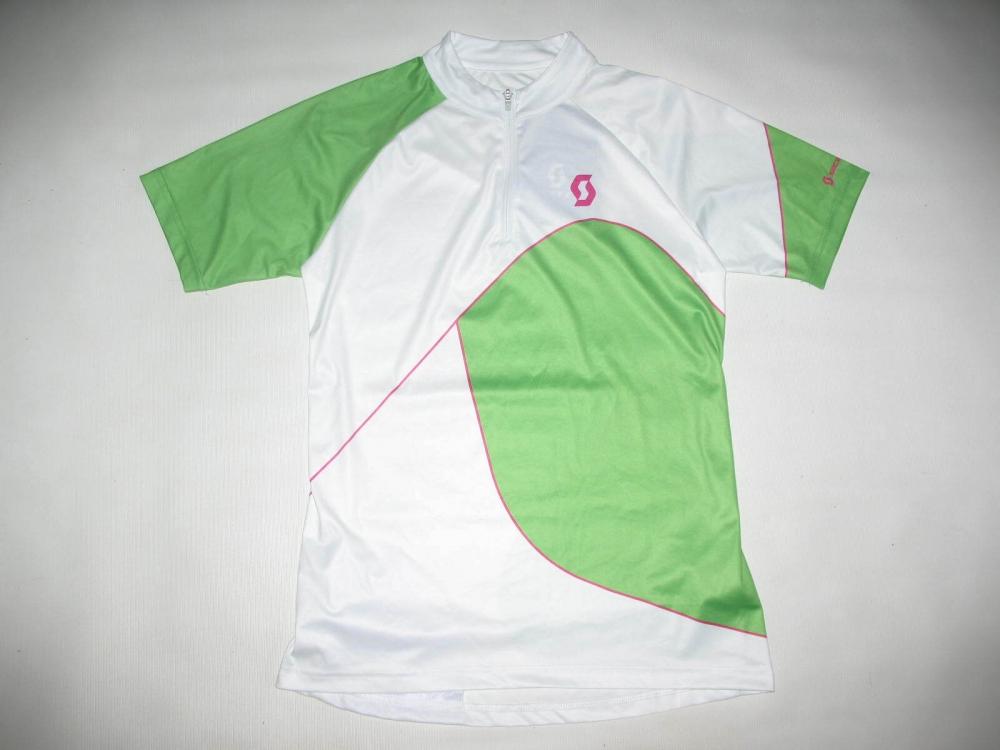 Веломайка SCOTT trail 50  short sleeve cycling jersey (размер S/M) - 1
