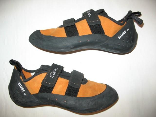 Скальные туфли ELLIOT st voyager velcro climbing unisex shoes (размер UK8,5/EU42,5(275   mm)) - 4
