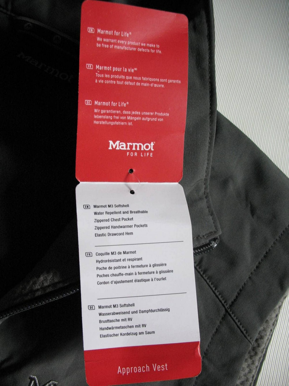 Жилет MARMOT approach softshell vest (размер L) - 8