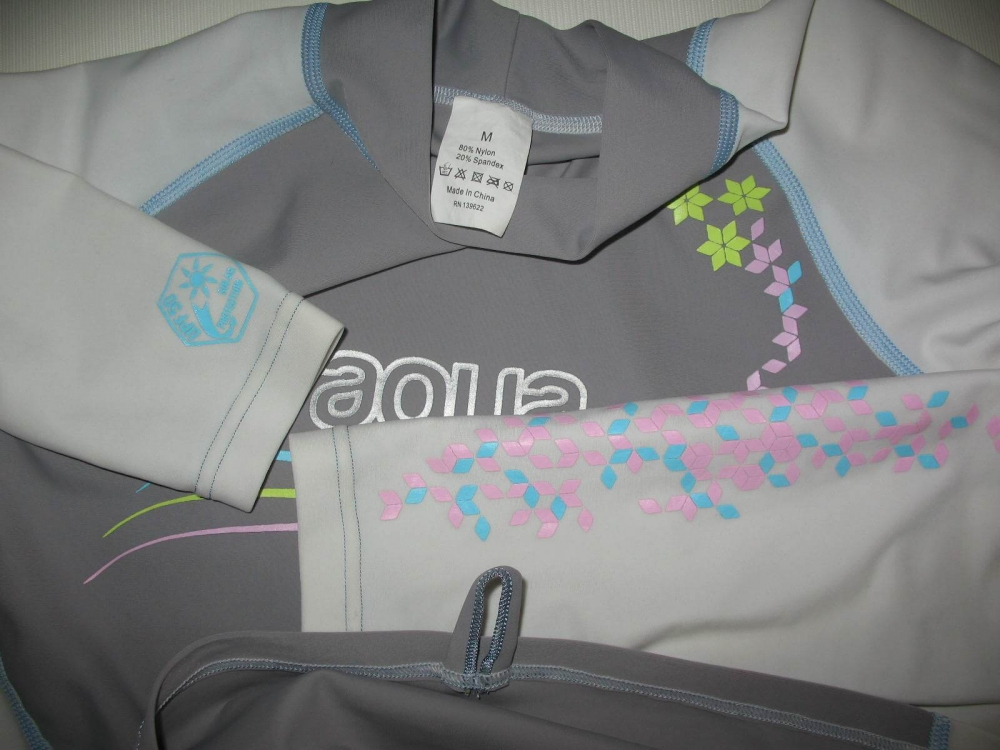 Футболка AQUA LUNG star anise long sleeve rashguard lady (размер M) - 2