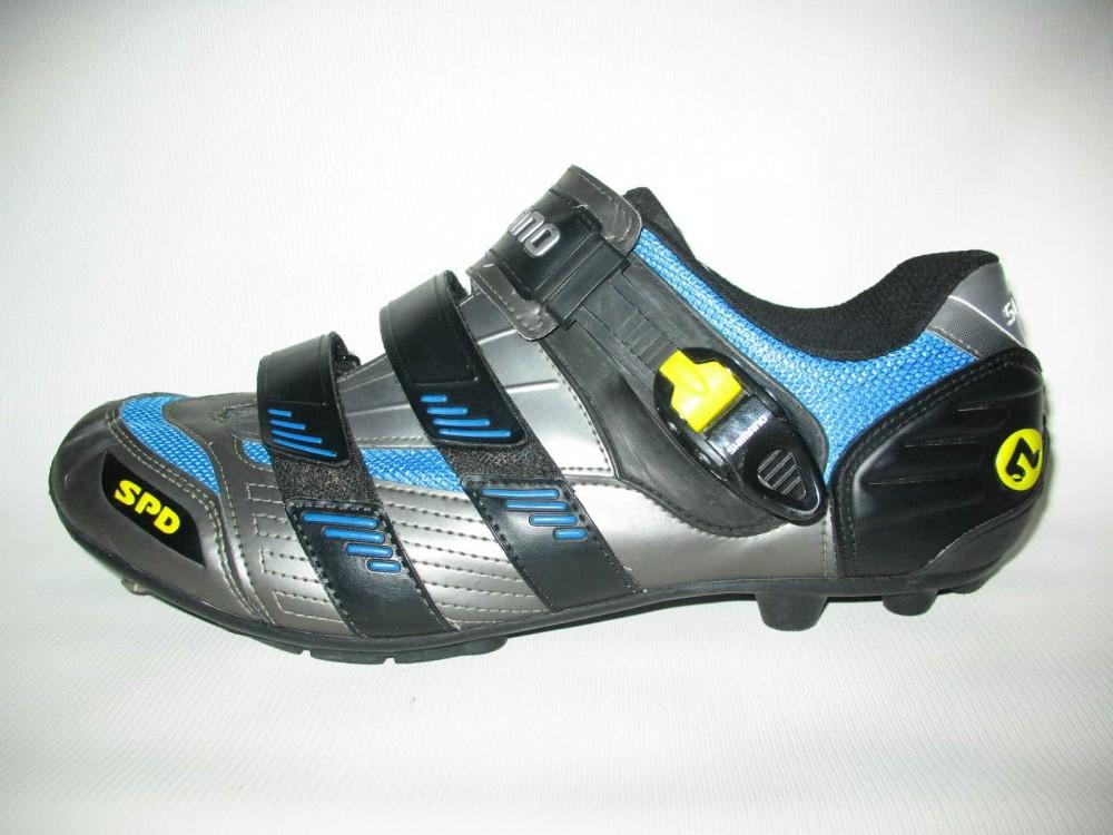 Велотуфли SHIMANO sh-m180g mtb bike shoes (размер UK12,5/EU47(на стопу до 298 mm)) - 1