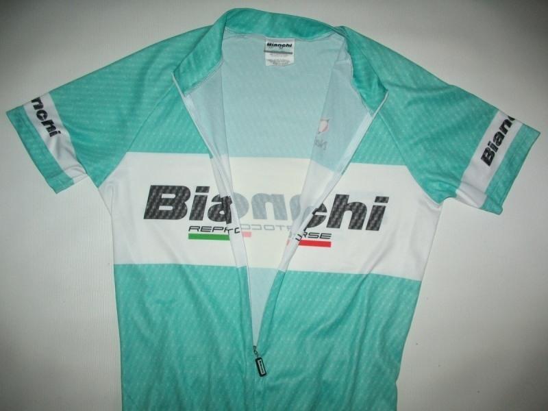 Футболка  NALINI Bianchi Team Carbon Jersey  (размер M) - 3