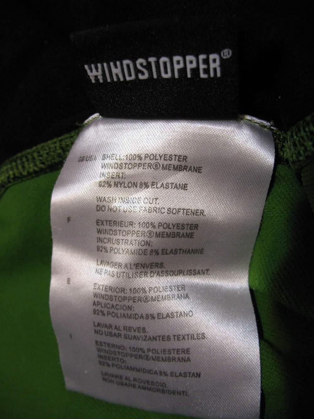 Куртка GORE running wear windstopper jersey (размер L) - 6