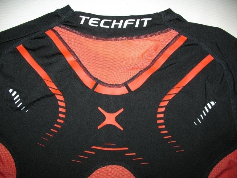Футболка ADIDAS techfit climacool compression jersey (размер XL) - 3