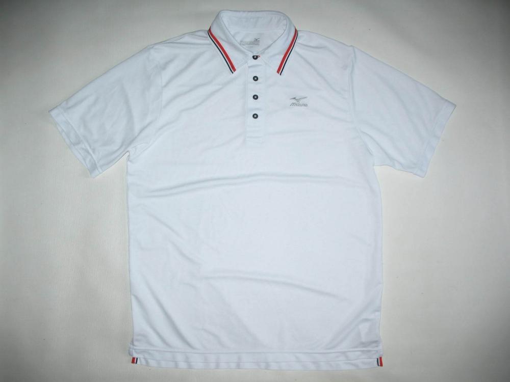 Футболка MIZUNO  Drylite Ice Touch Pique Golf Shirt (размер L) - 2