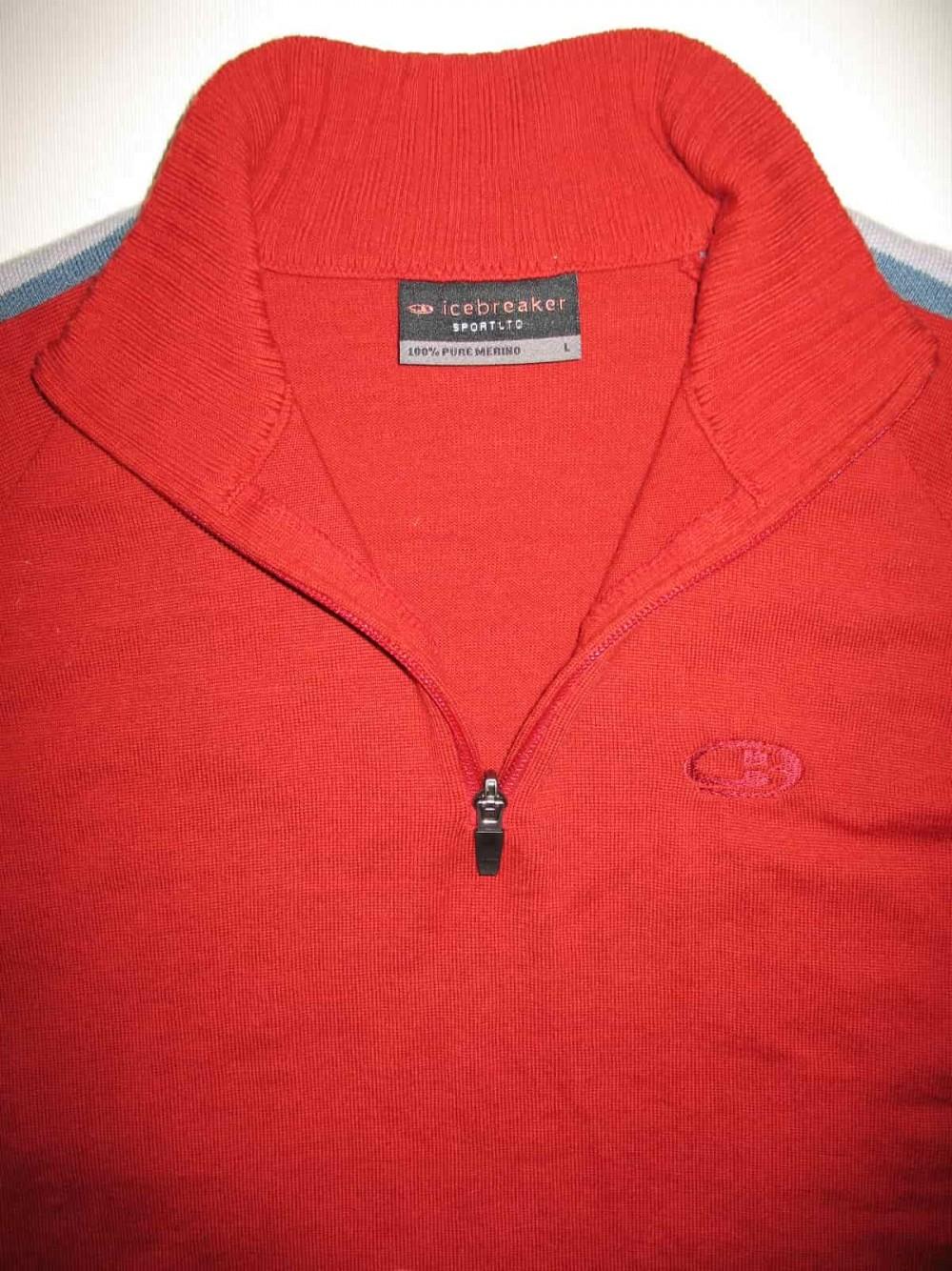 Кофта ICEBREAKER sport LTD jersey (размер L) - 3