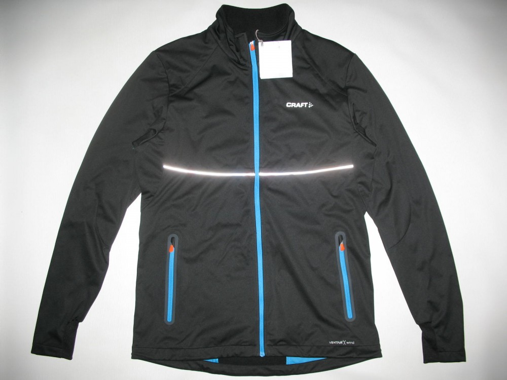 Куртка CRAFT pxc light softshell black jacket (размер M) - 1