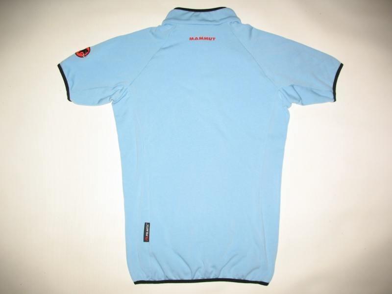Футболка MAMMUT fleece short sleeves lady (размер M/S) - 1