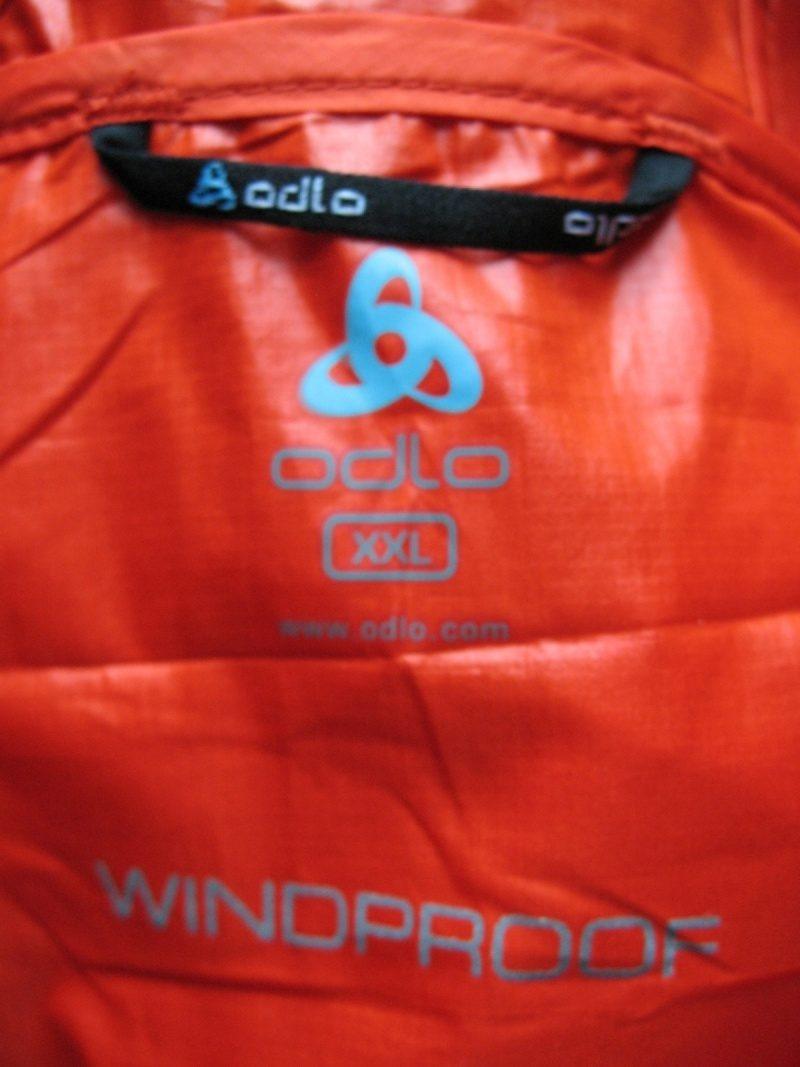 Куртка ODLO 2in1 windproof jacket (размер XXL) - 9