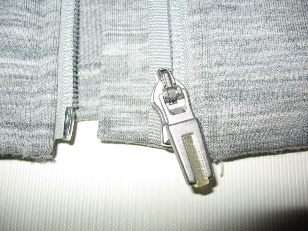 Кофта ICEBREAKER Midweight long sleeve Jacket(размер L) - 7