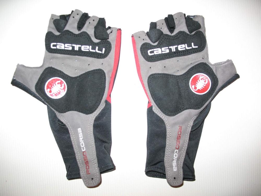 Велоперчатки CASTELLI rosso corsa classic glove lady/kids (размер XS) - 5