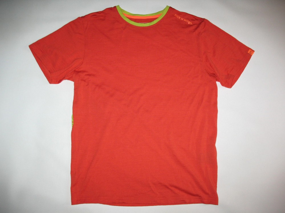 Футболка ORTOVOX rock'n'wool short sleeve jersey (размер М) - 1