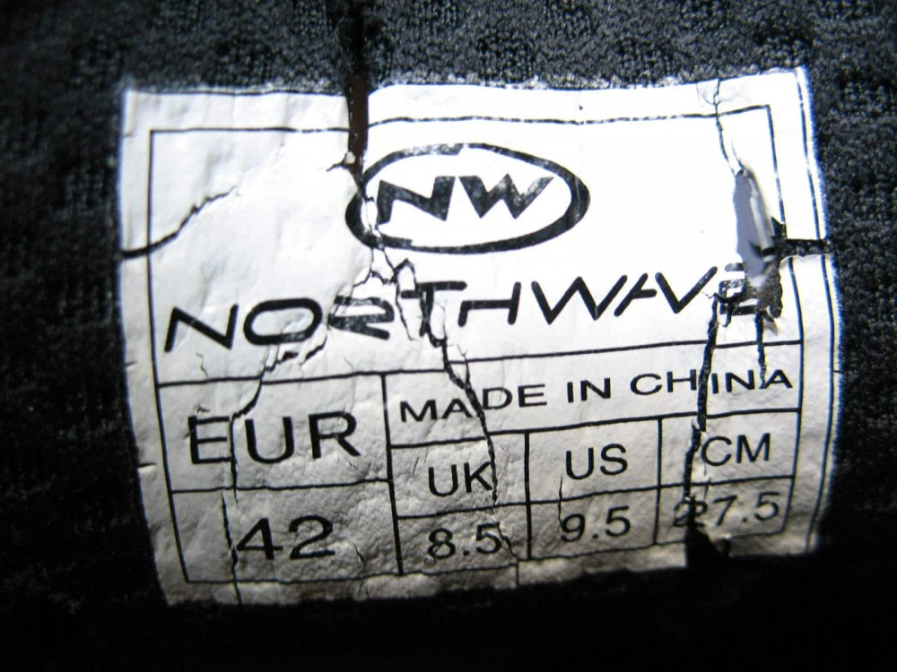 Велотуфли NORTHWAVE revenge road shoes (размер US9,5/UK8,5/EU42(на стопу до 270 mm)) - 9