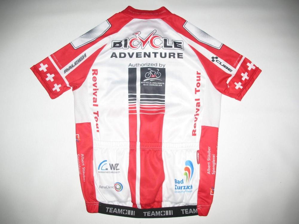 Веломайка MAX HUERZELER bicycle adventure jersey (размер S) - 1