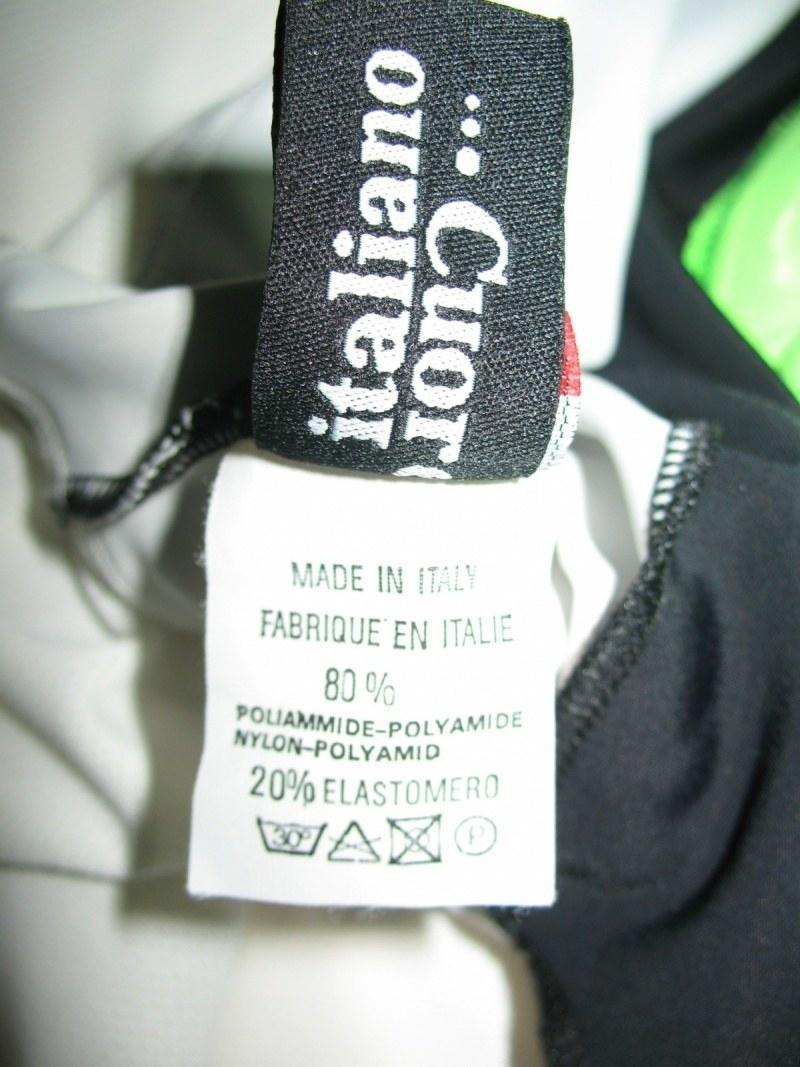 Велошорты+жилет PISSEI BONT bib+vest  (размер 6/XXL) - 10
