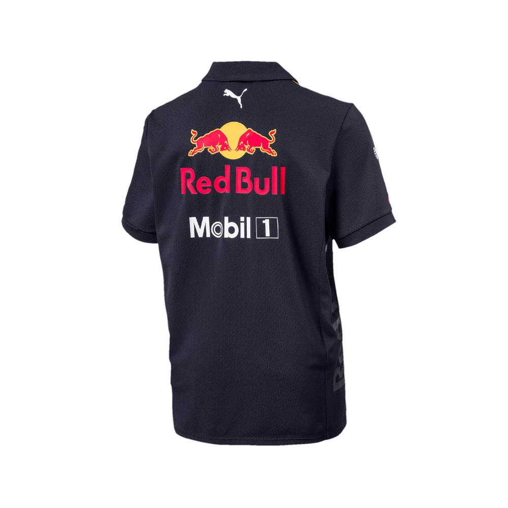 Поло PUMA aston martin red bull racing 18 polo jersey (размер M) - 1
