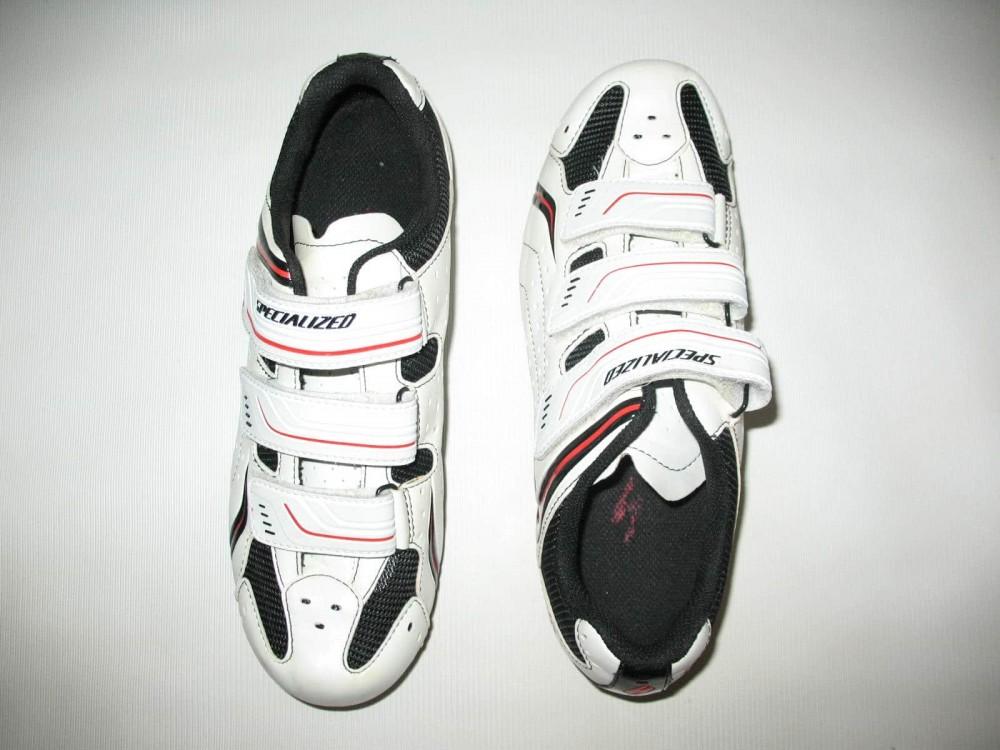 Велотуфли SPECIALIZED sport road white shoes (размер EU41(на стопу до 260 mm)) - 3